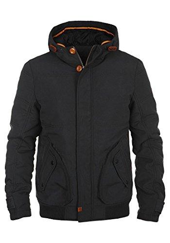 BLEND Poly Herren Winterjacke Kapuzenjacke Black (70155)