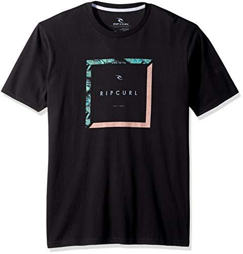 Rip Curl Herren Stassi Classic Tee T-Shirt, schwarz, Groß -