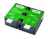 APC APCRBC123 - Pacco batterie sostitutive per APC UPS BR900GI, BR900G-GR, SMT750RMI2U