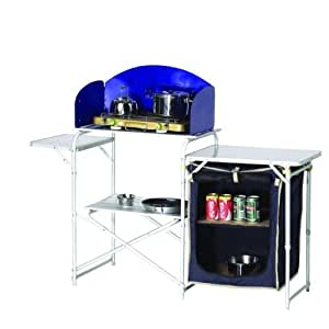 Camping Kitchen / Stove Stand with Larder