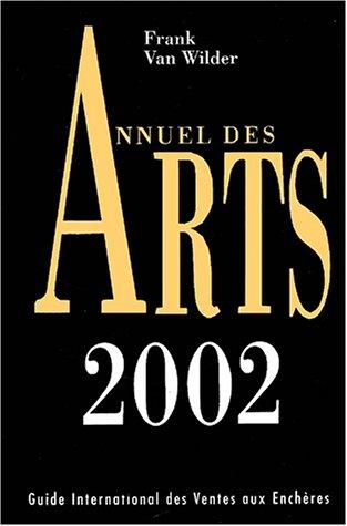 Annuel des arts 2002