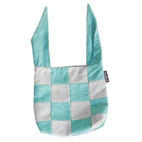 karierte Leinwand wiederverwendbar Lunch Bag [blau und weiß], 9,4 * 9,4 inch (Leinwand Karierte)