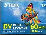 10Stk. Mini DV TDK DVM 60min. Camcorder Tapes -
