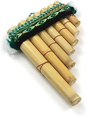 Fácil de usar Antara Mini Peruvian Pan Pipes–Percusión Instrumento Musical–comercio justo