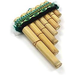 Mystery Mountain facile d'utilisation Antara Mini Flûte de pan péruvienne-Instrument de Musique Percussion-Commerce équitable