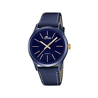 Lotus 18166/2 – Reloj de Pulsera Hombre, Color Azul