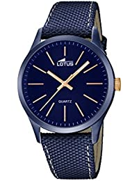 Lotus 18166/2 - Reloj de pulsera hombre, color Azul