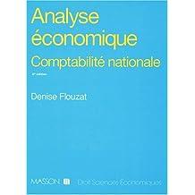 ANALYSE ECONOMIQUE. Comptabilité nationale, le système élargi (SECN), 5ème édition