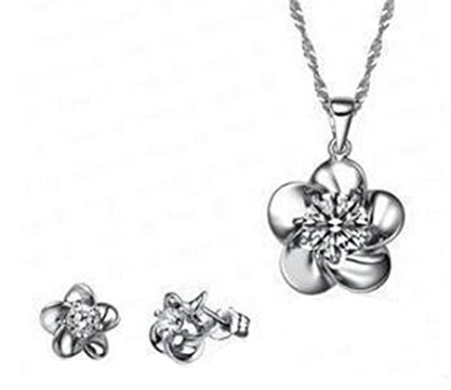 saysure-silver-plated-jewelry-set-with-crystal-enamel-flower