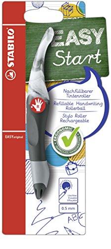 Preisvergleich Produktbild STABILO B-50623-5 EASYoriginal Marbled Colors Edition Ergonomischer Tintenroller inklusive Patrone für Rechtshänder, Schreibfarbe blau, graphit