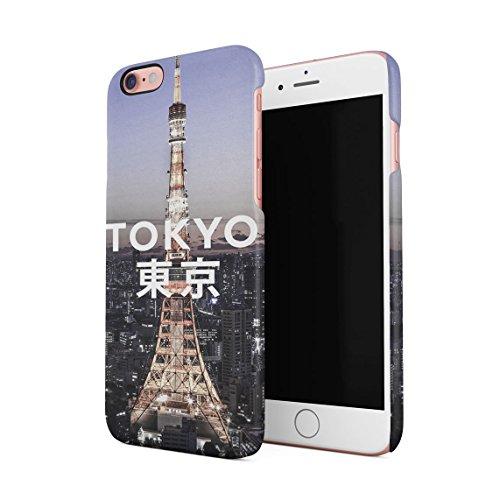 Tokyo Minato Tower Japan Dünne Rückschale aus Hartplastik für iPhone 7 Plus & iPhone 8 Plus Handy Hülle Schutzhülle Slim Fit Case cover Tokyo Tower