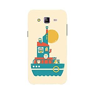 Back cover for Samsung Galaxy J3 Owl ship