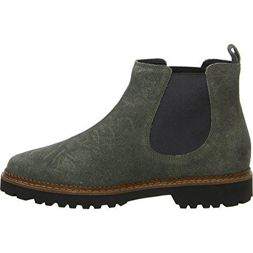 Sioux Damen Vesela-172 Chelsea Boots Grün (Khaki)