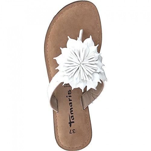 Tamaris 1-27127-20 Sandales Femmes Weiß