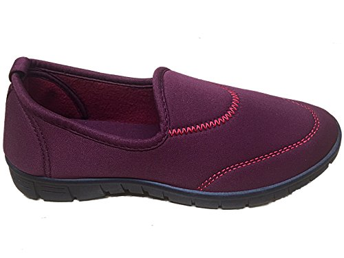 Foster Footwear, Sneaker donna Burgundy