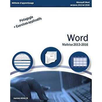 Word Maîtrise 2013 - 2016