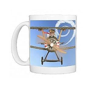 Mug Photo de LA - 4474 M Hamster Motif vol avion Par Ardea sauvages Animaux