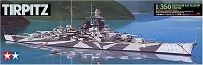 Tamiya - 78015 - Maquette - Bateau - Cuirasse Tirpitz
