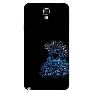KINGDON UNDER TREE BACK COVER FOR SAMSUNG GALAXY NOTE 3NEO