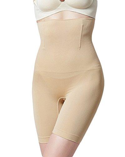 Yonglan Donna Guaina Contenitiva Vita Alta Dimagrante Mutanda Contenitiva Pantaloncino Snellente Carnagione M