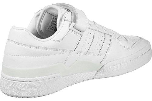adidas Forum Lo Refined, Chaussures de Gymnastique Homme Blanc Cassé (Ftwr White/ftwr White/core Black)