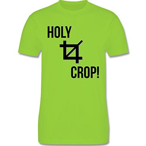 Designer - Holy Crop - Herren Premium T-Shirt Hellgrün