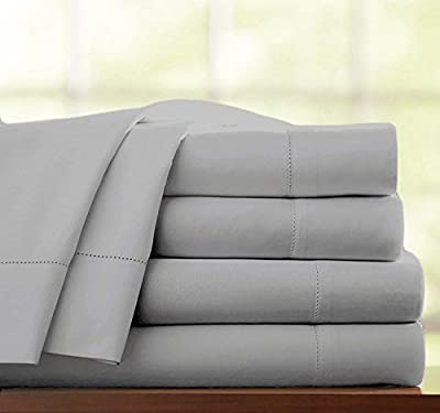 100% Egyptian Cotton 4 Piece 500 Thread Count Hotel Quality Bedding Bed Set Duvet Cover With Pillowcases Fitted Sheet
