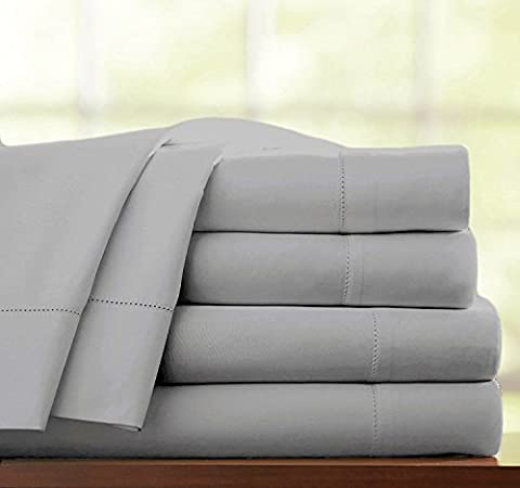 100% EGYPTIAN COTTON 3PC 500 THREAD COUNT HOTEL QUALITY DUVET COVER BEDDING BED SET WITH PILLOWCASES (Super King,