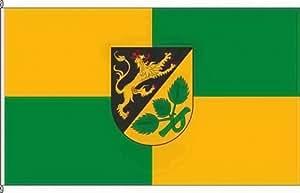 Königsbanner Hochformatflagge Birkenhördt - 150 x 500cm - Flagge und Fahne