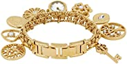 Anne Klein Watch for Women - Analog, Stainless Steel Band - 8096CHRM