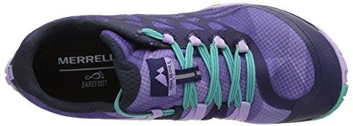 Merrell Glove 4, Scarpe da Trail Running Donna Viola (Very Grape/astral Aura)
