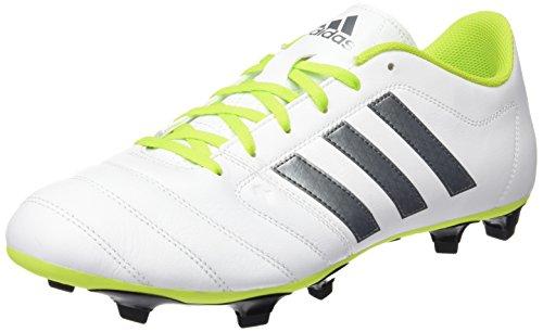 Adidas S42170, Scarpe da calcio Uomo, Bianco / Verde (Ftwbla / Nocmét / Seliso), 36 EU