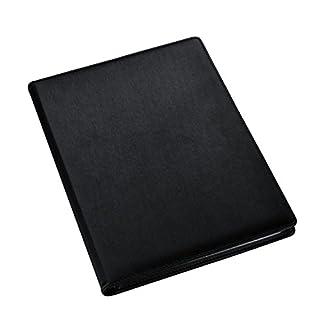 Arpan High-Quality Black A4 Professional Display Book Folder for Presentation, Artwork, Interviews, CVS - A4 Display Folder with 48 Pockets (96-Side)