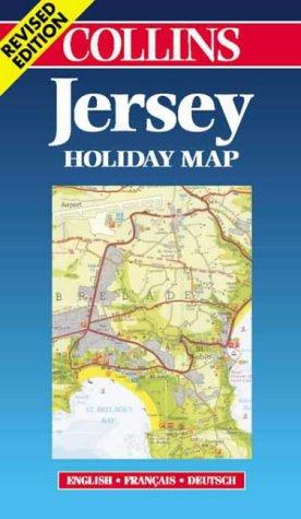 Carte touristique : Jersey (en anglais)