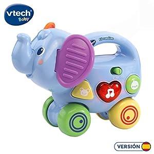 VTech- Eli rueditas, Empuja, Rueda y arrastra Juguete bebé, Color (3480-513622)