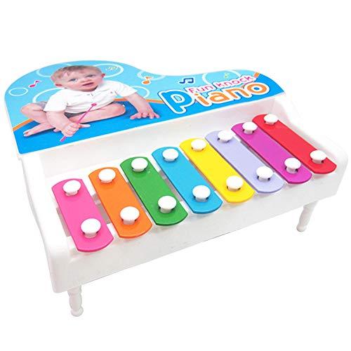 YunYoud Baby Kind Kind 8-Note Musical Spielzeug Weisheit Entwicklung Clever Mit Buch und Ballongas Geschenk für Schulanfänger zur Einschulung Paw Patrol Happy Birthday-Banner