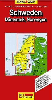 Schweden 1 : 650 000. Nord und Süd. RV Euro Cart. ( Euro- Länderkarte).: Alle Infos bei Amazon