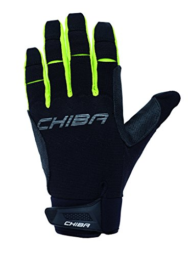 Chiba Gel Protect Pro Gloves, Black, Small