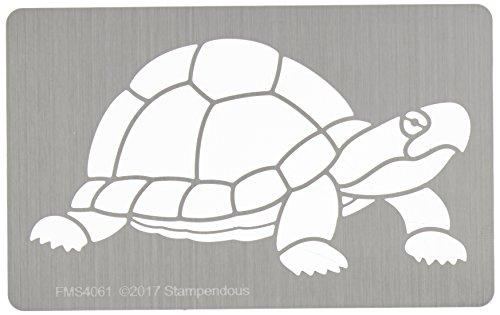 (Unbekannt Stampendous fms4061Schildkröte Metall Schablone)