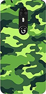 HICOVERS Khaki pattern Best Desinger Printed Soft Silicone Case for Gionee A1