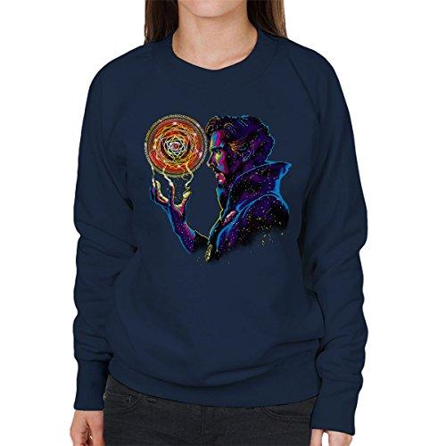 New Doctor Strange Sorcerer Supreme Women's Sweatshirt Navy blue