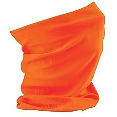 Idea Regalo - Beechfield Morf Cappello/scaldacollo sciarpa bandana Head Band Orange Etichettalia unica
