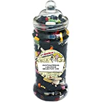 Whopping Traditional Sweetshop-Style Jar Of Mouthwatering Liquorice Retro Sweets + 100% Money Back Guarantee - Perfect Inexpensive Birthday Gift, Get Well Soon, Congratulations or Anniversary Present Ideas For Him and Her: Boys & Girls, Mums & Dads, Men & Women Of All Ages. …
