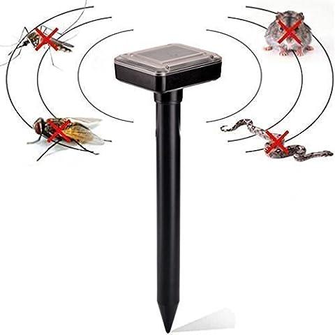MEIWEI Mouse(2pcs) conducción ultrasónica con alimentación solar