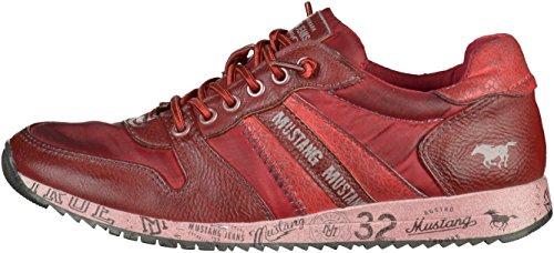 Mustang 5039-401 Unisex-Kinder Sneakers Weinrot