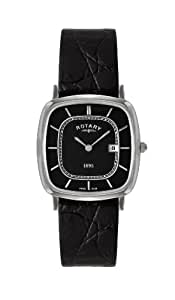 Rotary Men's Watch Analogue Quartz Leather Ultra-Slim GS08100/04