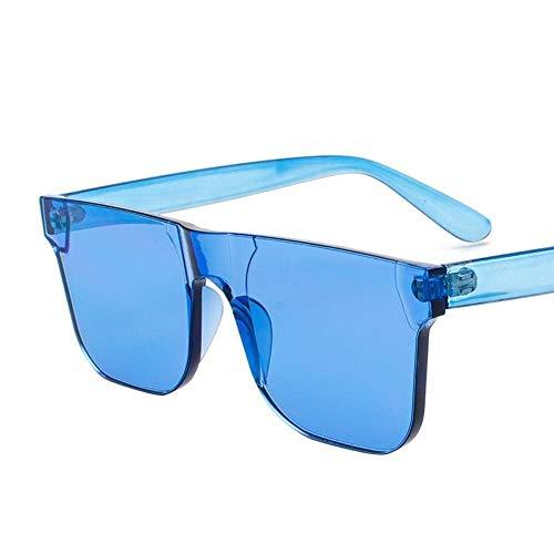 Mon5f Home Herren Sonnenbrillen Frauen Ozean Film Sonnenbrillen weibliche Trend Sonnenbrillen Einteilige Süßigkeiten Farbe Brille Korea Mode Sonnenbrillen - Männer Korea Sonnenbrillen