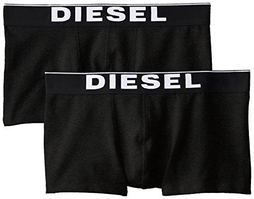 Diesel Herren KORY2PK Boxershorts, Schwarz (Black), Gr. L