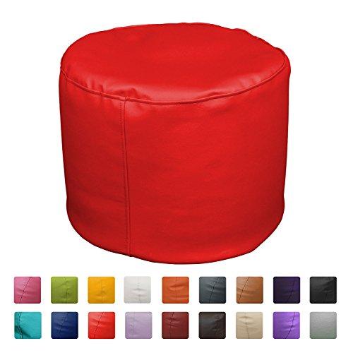 Puff Taburete 50x50x45 (Rojo)