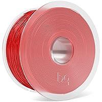 BQ F000154 Filamento PLA Easy Go, 1.75mm, 1 kg, Rosso